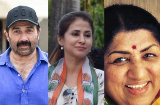 Elections 2019: Sunny Deol Leads, Urmila Matondkar Trails While Lata Mangeshkar is Ecstatic