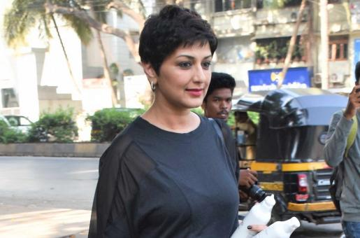 Sonali Bendre Looks Stunning As She is Papped in the City