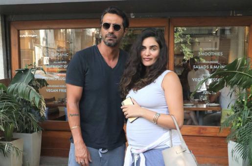 Arjun Rampal's Girlfriend Shares a New Sneak Peek of the Baby Boy!
