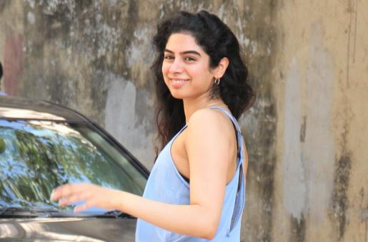 Khushi Kapoor Gets Papped After Workout