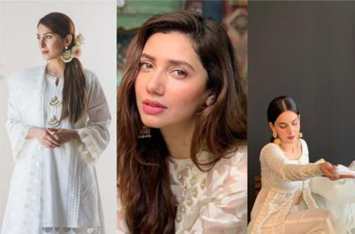Mahira Khan, Saba Qamar and Ayeza Khan: How Pakistani starlets sported white this Eid