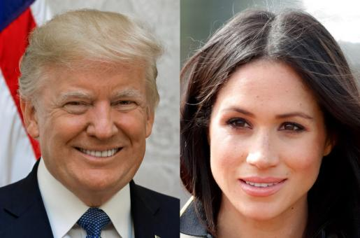 """Donald Trump Now Declares Meghan Markle As """"Nice"""" After Calling Her """"Nasty"""""""
