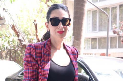 Karisma Kapoor in Tartan Pant Suit: Get the Look!