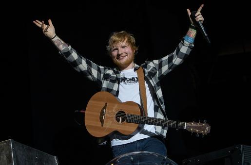 Ed Sheeran Remains UK's Most Played Artist