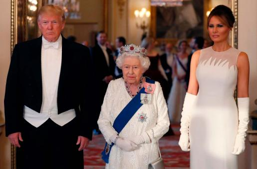 Melania Trump's Designer Outfits During The UK State Visit