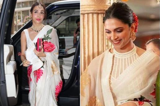 Fashion Faceoff: Deepika Padukone or Malaika Arora: Who Wore This Rohit Bal Sari Better?