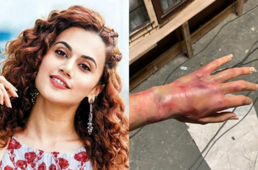Taapsee Pannu in Game Over – Here's the Story Behind Her Burnt Hand