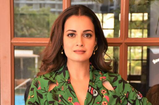 Dia Mirza is Glam in Green for Latest Web Series Promos