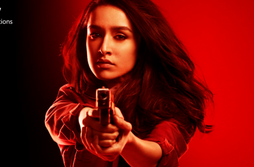 Saaho Poster: Shraddha Kapoor Looks Fierce and Intriguing