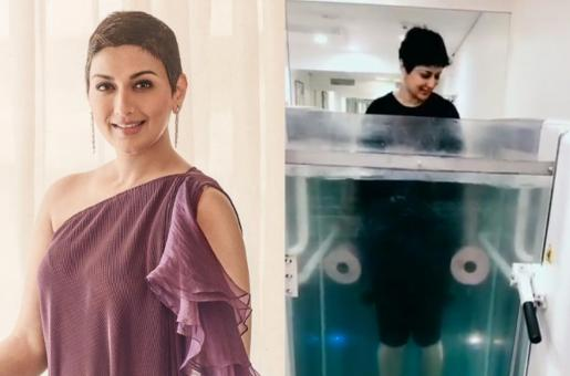 Sonali Bendre's Aquatherapy Session Video is Super Inspiring