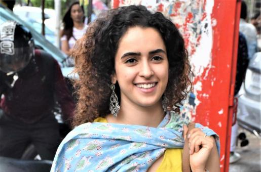 Sanya Malhotra Exudes Madhuri Dixit Vibes As She Dances To Veteran Actor's Most Popular Hit In Instagram Video
