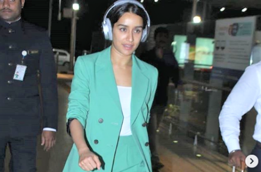Shraddha Kapoor's Airport Style is Fab!