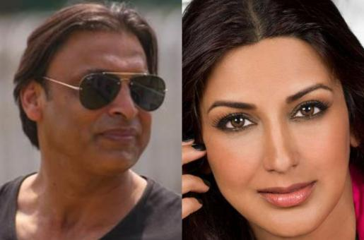 Was Shoaib Akhtar in Love with Sonali Bendre?