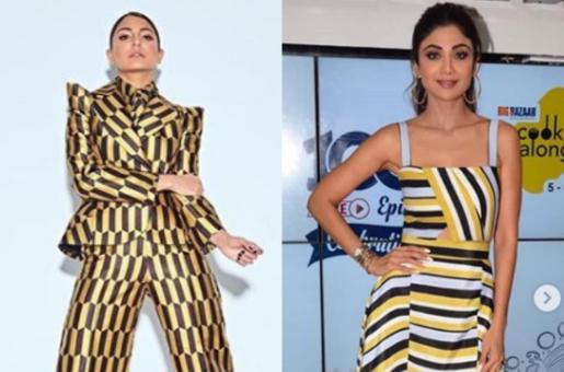 Anushka Sharma, Shilpa Shetty Show How Black and Yellow are Done!