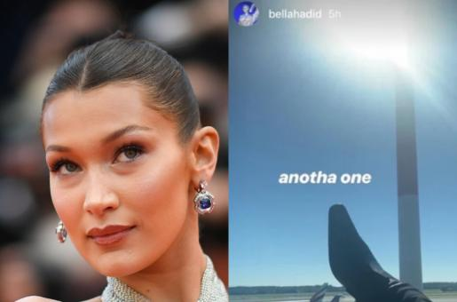 Bella Hadid Deletes Her Shoe Photo From Instagram Story After Receiving Severe Backlash