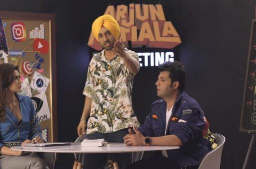 Arjun Patiala: Kriti Sanon, Diljit Dosanjh and Varun Sharma Starrer's Trailer Out Tomorrow