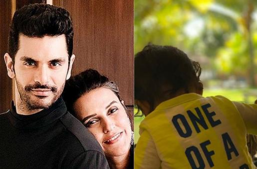 Neha Dhupia, Angad Bedi Share Sweet Pictures of Baby Mehr