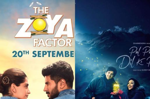 Sonam Kapoor and Dulquer Salmaan's The Zoya Factor Clashes With Karan Deol's Pal Pal Dil Ke Paas at the Box Office