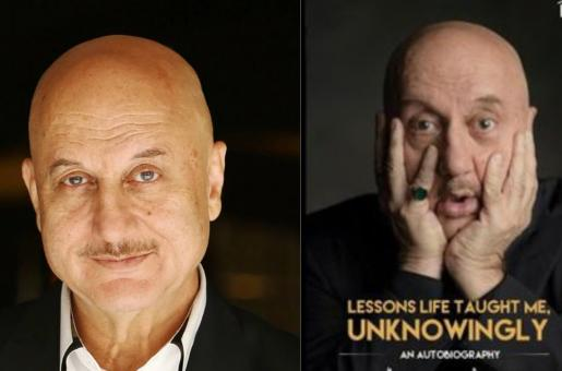 Anupam Kher Started Writing His Autobiography When He Was 10! And It's Finally Here…