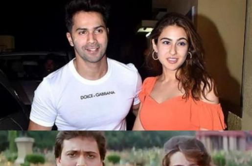 Sara Ali Khan and Varun Dhawan Are Set to Reinvent the Bollywood Classic Song 'Main Toh Raste Se Ja Raha Tha'