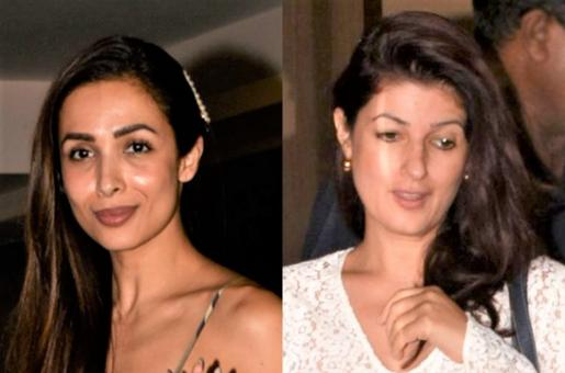 Malaika Arora, Sushmita Sen, Twinkle Khanna: Stunning Makeup Free Bollywood Actresses