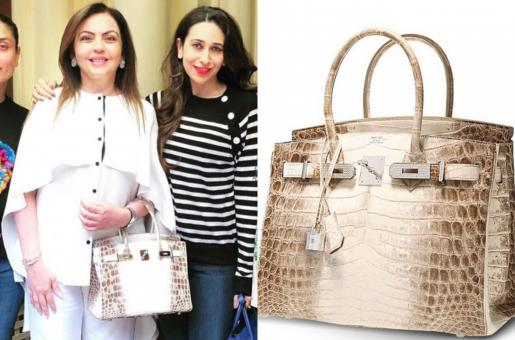 Nita Ambani's 18K Gold and Diamond Laced Hermes Bag: Here's Everything You Need to Know