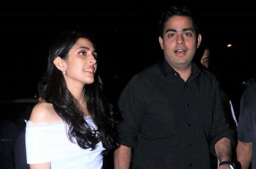 Shloka Mehta and Akash Ambani are Couple Style Goals at Yuvraj Singh's Retirement Party