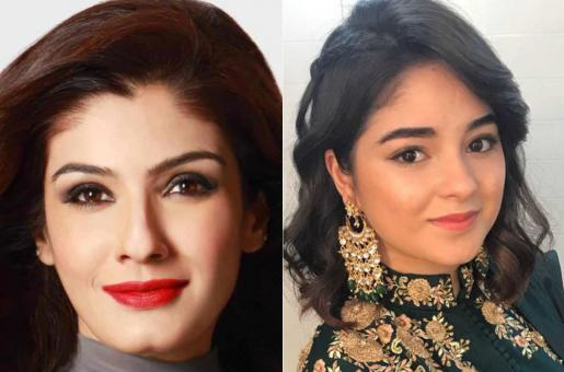 Zaira Wasim Quits Bollywood, Bollywood Reacts, Raveena Tandon Wishes Zaira Hadn't 'Demeaned Others'