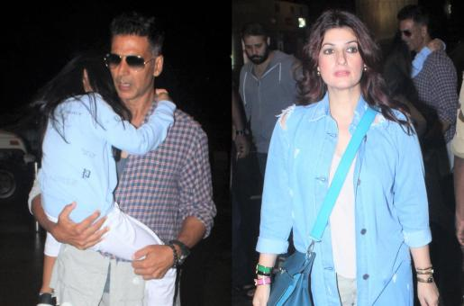 Akshay Kumar, Twinkle Khanna and Baby Nitara Are Off to London for a Family Vacation