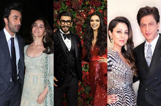 Top 10 Power Couples of Bollywood: Ranbir Kapoor-Alia Bhatt to Deepika Padukone-Ranveer Singh to Shah Rukh Khan-Gauri!