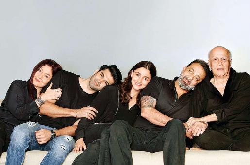 Mahesh Bhatt Back On Set After 20 Years to Film For Sadak 2