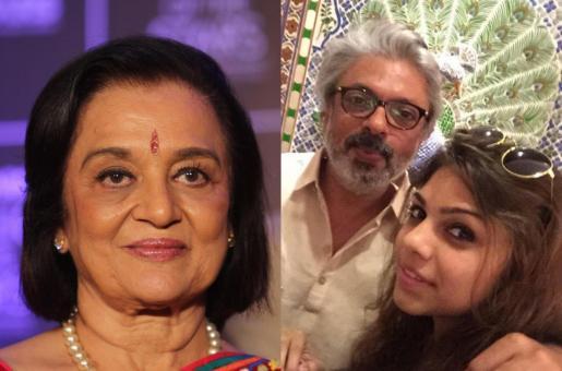 Veteran Actress Asha Parekh Loves Sanjay Leela Bhansali's Niece Sharmin Segal