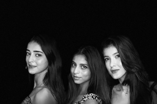 BFFs Suhana Khan, Shanaya Kapoor And Ananya Pandey Pose For The Perfect Picture And GUESS Who Captured The Moment?
