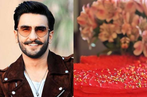 Ranveer Singh's Birthday Cake Is Just as Colourful as He Is!