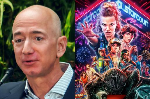 Amazon Founder Jeff Bezos Just Watched Season 3 of Netflix Show Stranger Things and Loves It!