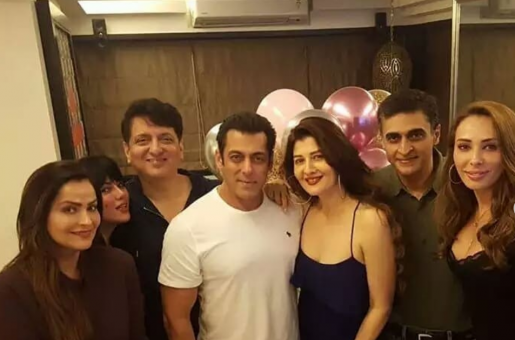 Salman Khan Celebrates His Ex-Girlfriend's Birthday With Rumoured New Beau Iulia Vantur: See Pics!
