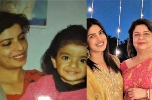 Priyanka Chopra Looks JUST like Her Mother in This Throwback Picture