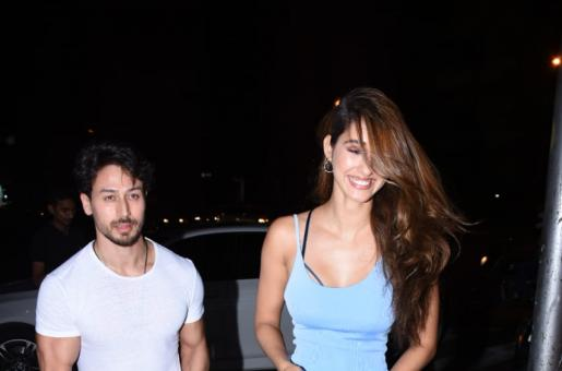Tiger Shroff and Disha Patani Step Out for a Dinner Date in Style