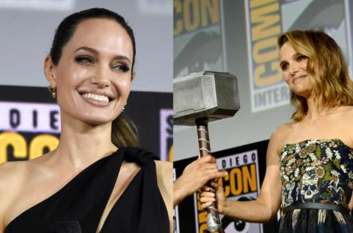 Marvel Phase 4 to Include Angelina Jolie in The Eternals and Natalie Portman as the Female Thor