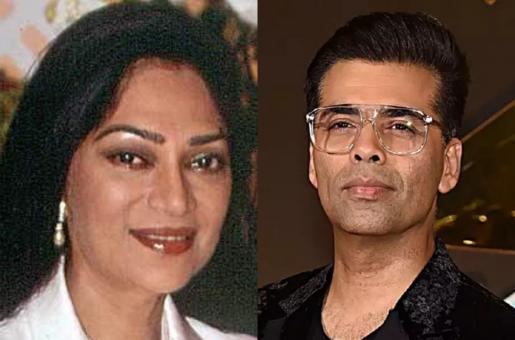 Did Simi Garewal Make FUN of Karan Johar's Talk Show?