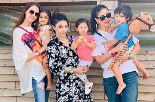 Kareena Kapoor and Soha Ali Khan Go Farm Hopping with the Kids in London