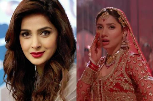 Saba Qamar is All Praises for Mahira Khan's Look in Parey Hut Love's Morey Saiyan