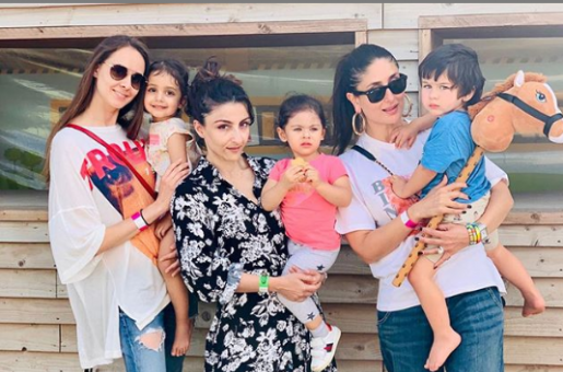 Inaaya Naumi Kemmu Looks as Cute as a Button on a Birthday Party