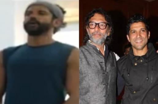 Farhan Akhtar Hits the Gym for His Upcoming Sports Flick Toofan; Shares His Workout Video