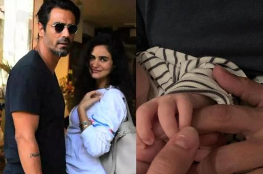 Arjun Rampal Reveals Name of His Newborn Baby Son on Instagram!