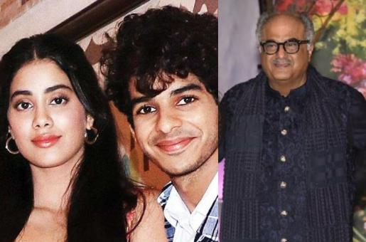 Janhvi Kapoor and Ishaan Khatter's 'Relationship' Has Apparently Been Approved by Boney Kapoor?