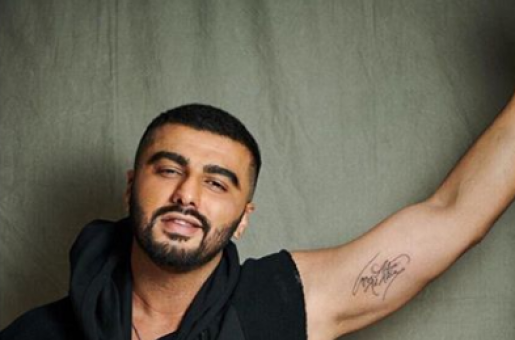 Arjun Kapoor Reveals His Latest Tattoo and it Isn't Malaika Arora's Name!