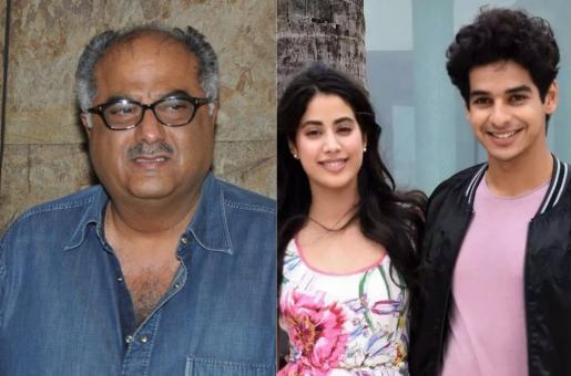Boney Kapoor Reacts to Rumors of His Daughter Janhvi Kapoor Dating Ishaan Khatter…
