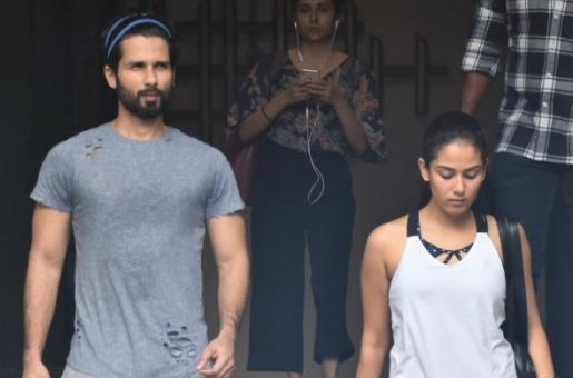 Shahid Kapoor and Mira Kapoor Are Giving Us Major Fitness Goals in Recent Pics