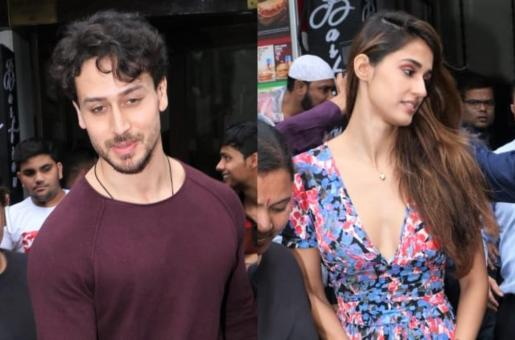 Tiger Shroff and Disha Patani Spotted Out and About Again!